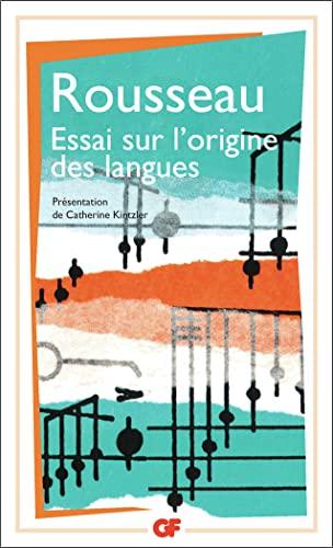 9782080706829: Essai sur l'origine des langues où il est parlé de la mélodie et de l'imitation musicale