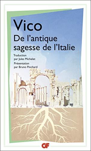 9782080707420: L'antique sagesse de l'Italie (Garnier-flammarion)
