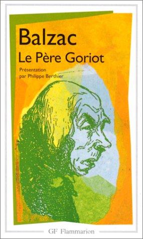 9782080708267: Le Pere Goriot (GF LITTÉRATURE)