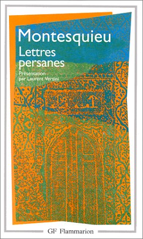 9782080708441: Lettres Persanes (Garnier-Flammarion) (French Edition)