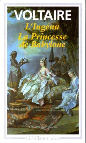 9782080708588: L'ingénu.La princesse de Babylone