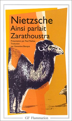 9782080708816: Ainsi parlait Zarathoustra (GF)