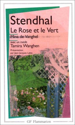 9782080709004: Le Rose et le vert