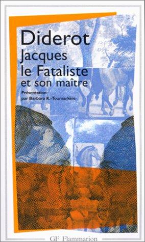9782080709042: Jacques Le Fataliste Et Son Maitre (French Edition)