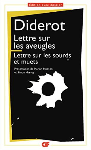9782080710819: Lettre sur les aveugles - Lettre sur les sourds et les muets
