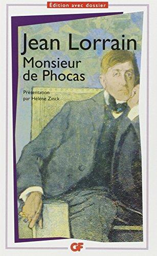 Monsieur De Phocas (French Edition): Lorrain, Jean
