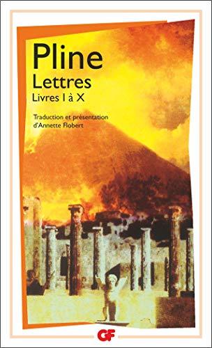 9782080711298: Lettres : Livres I à X