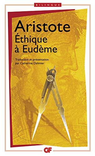 9782080712721: Ethique à Eudème : Edition bilingue français-grec