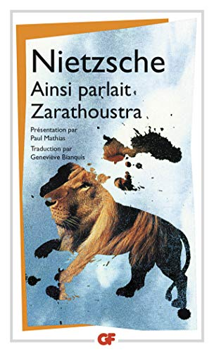 9782080713025: Ainsi Parlait Zarathoustra (French Edition)
