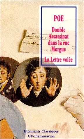 9782080720450: Double assassinat dans la rue Morgue - La Lettre volée