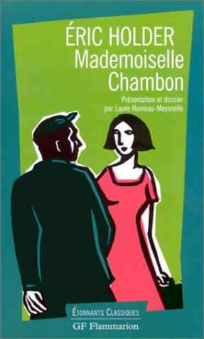 9782080721532: Mademoiselle Chambon