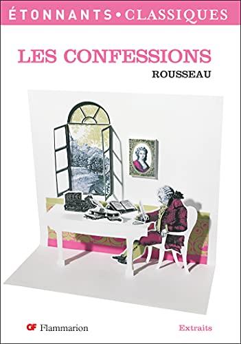 9782080722386: Les Confessions/Extraits