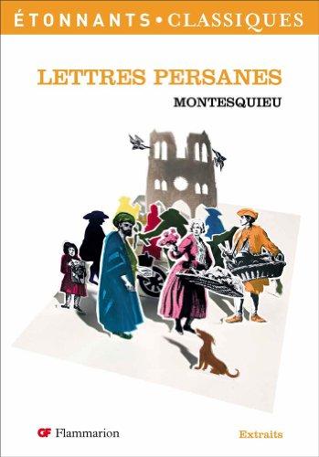 Lettres persanes: Montesquieu, Fajeau, Fabrice