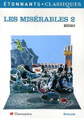 9782080722713: Les miserables t2 (ne) (GF Etonnants classiques)