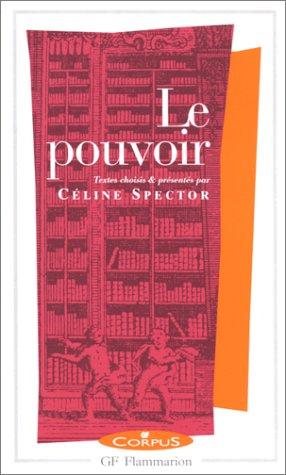 9782080730022: Le Pouvoir (Corpus) (French Edition)