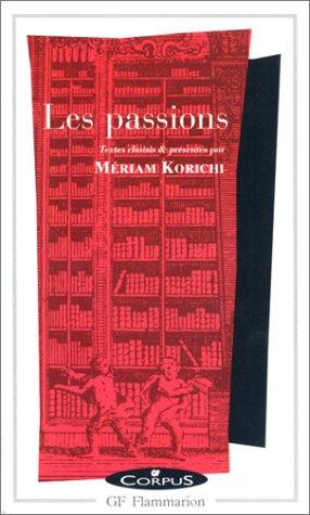 9782080730534: Les Passions