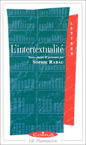 9782080730596: L'Intertextualité