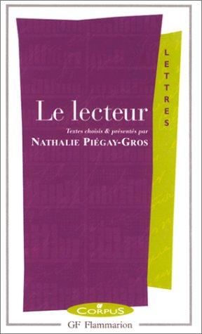 9782080730640: Le Lecteur (GF corpus)