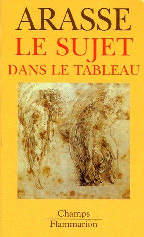 9782080801487: Le Sujet dans le tableau : Essais d'iconographie analytique