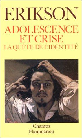 9782080810601: Adolescence et crise : la quête de l'identité