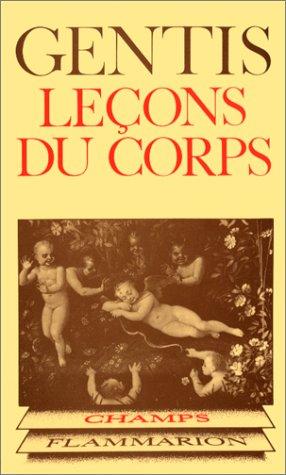 9782080811141: Leçons du corps