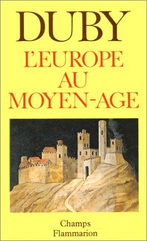 9782080811462: L'Europe au Moyen Age