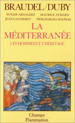 9782080811677: La mediterranee t2 - les hommes et l'héritage (Champs)