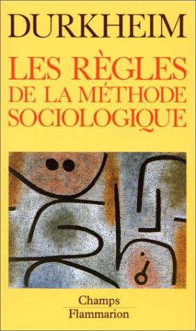 9782080811981: Les Règles de la méthode sociologique
