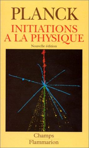 9782080812049: Initiations à la physique