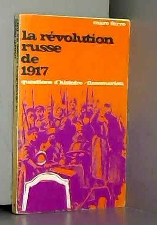 9782080812230: La Révolution russe de 1917