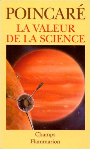 9782080812308: La Valeur de la science (Champs)