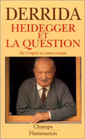 9782080812353: Heidegger et la question