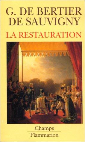 9782080812377: La Restauration