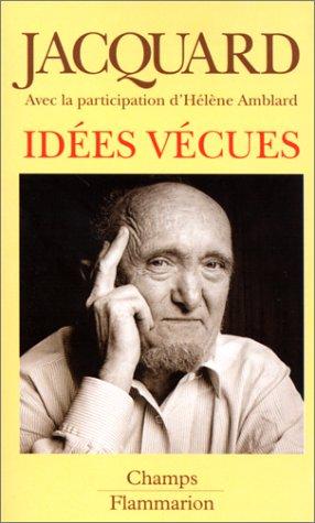 9782080812445: Idées vécues (Champs)