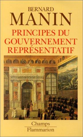 9782080813497: Principes du gouvernement représentatif