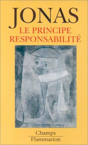 9782080814029: Le Principe responsabilité : une éthique pour la civilisation technologique