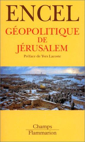 9782080814609: Géopolitique de Jérusalem