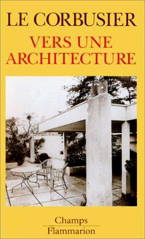 9782080816115: Vers une architecture