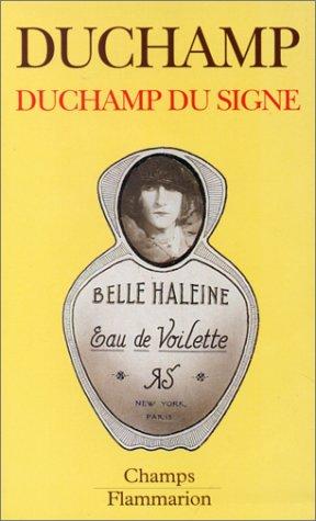 9782080816146: Duchamp Du Signe (French Edition)