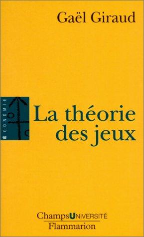 9782080830012: La th�orie des jeux