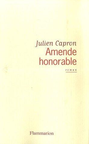 Amende honorable: JULIEN CAPRON