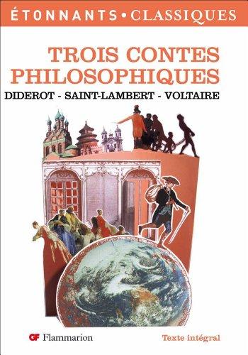 9782081202825: Trois contes philosophiques
