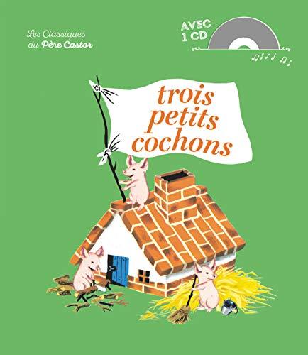 9782081207974: Trois petits cochons Book+CD
