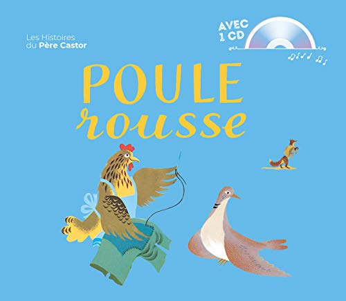 9782081207998: Poule Rousse + CD (French Edition)