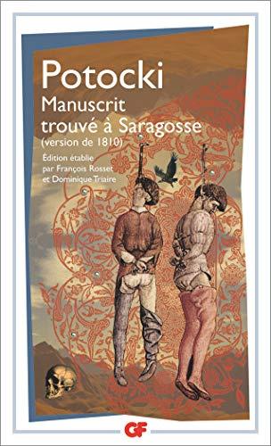 9782081211445: Manuscrit trouvé à Saragosse : (Version de 1810) (GF)