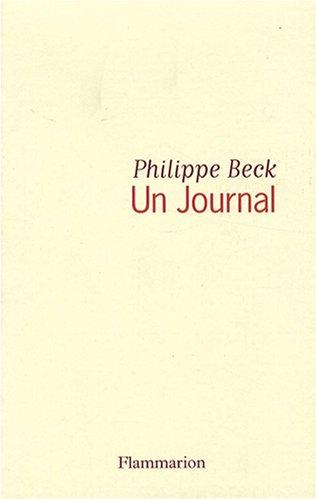 9782081211605: Un journal (Essais)