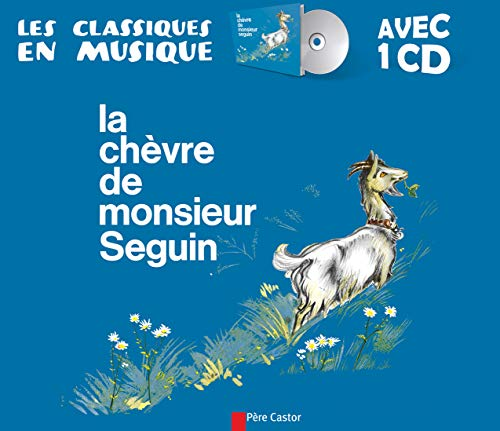 9782081212428: La chèvre de monsieur Seguin (1CD audio)