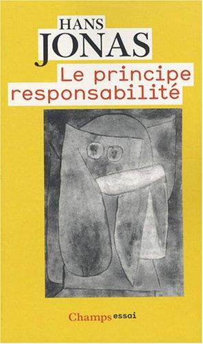 9782081213005: Le principe responsabilité (French Edition)