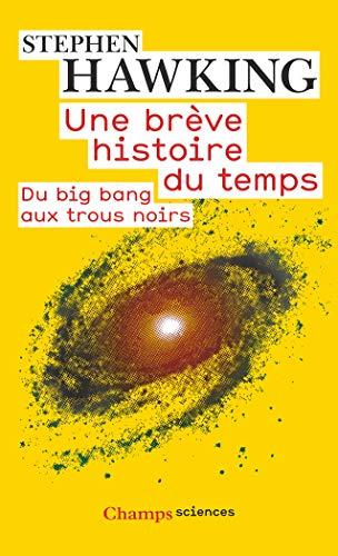 9782081214842: Une brève histoire du temps : Du big bang aux trous noirs