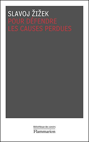 pour defendre les causes perdues (9782081215047) by [???]